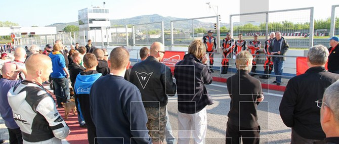 Doc Scholl ADAC Training in Magione vom 18. - 20.04.2011