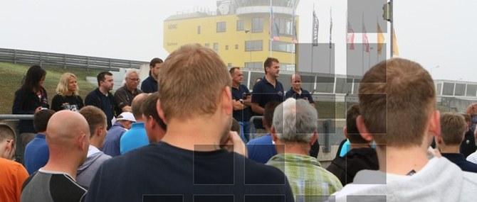 KM Training auf dem Sachsenring am 05. - 06.08.2013