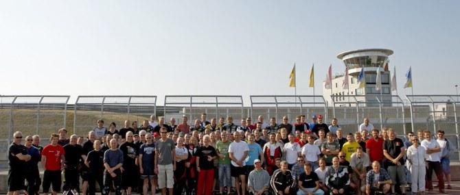 KM Training auf dem Sachsenring am 09.und 10.06.2008