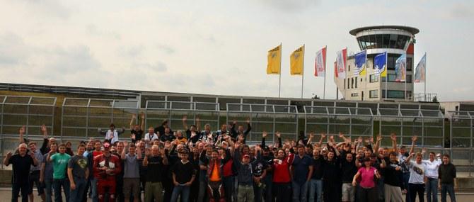 KM Training auf dem Sachsenring am 15. und 16.06.2009