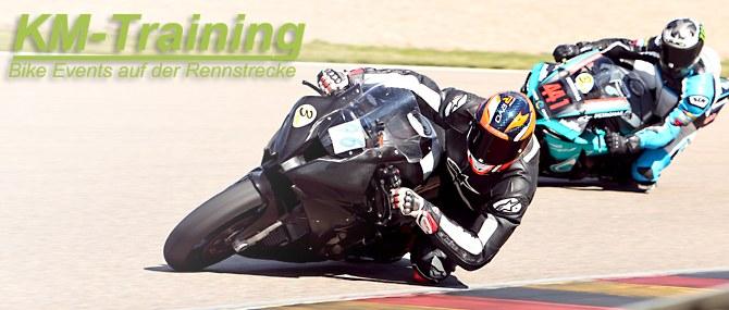 KM Training auf dem Sachsenring am 24. - 25.08.2020