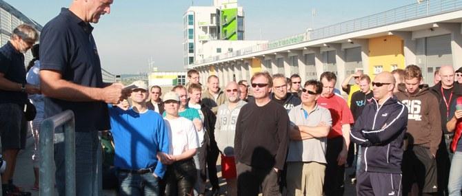 KM Training auf dem Sachsenring am 26. - 27.05.2014