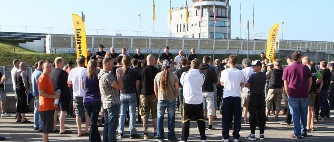 KM Training auf dem Sachsenring am 27.-28.06.2011