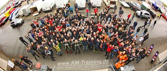 KM Training in Oschersleben am 13. - 14.09.2014