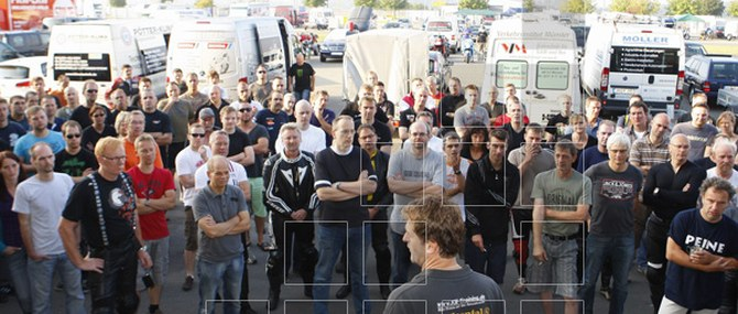 KM Training in Oschersleben am 22.08.2011