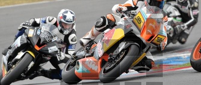 KTM TNT auf dem Lausitzring am 02. - 03.06.2012