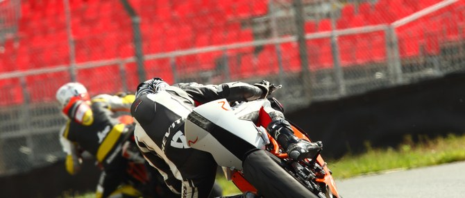 KTM TNT auf dem Sachsenring am 30. - 31.05.2014