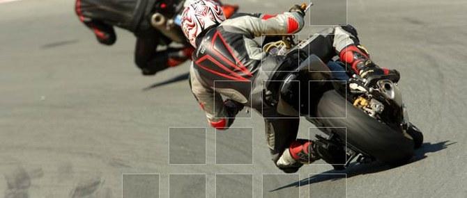 Motorrad Unger auf dem Sachsenring