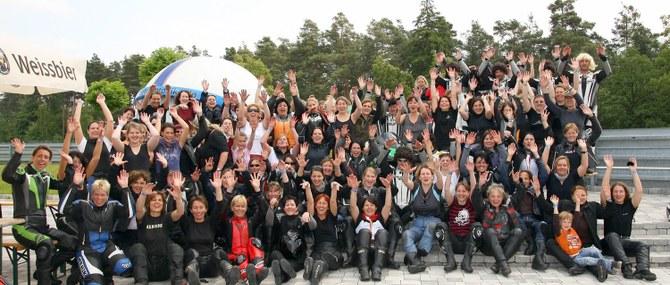 Girls-Only Team Motobike am 22.05.2009