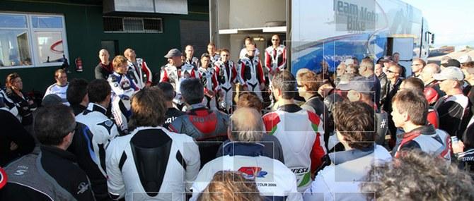 Team Moto Bike BMW auf Mallorca vom 05. - 07.11.2010