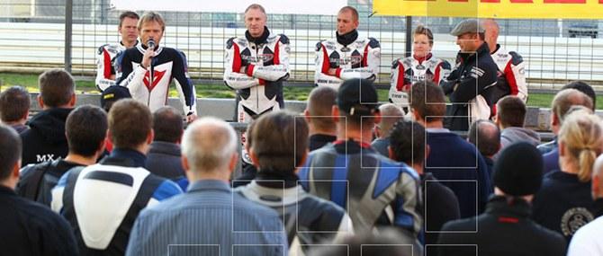 Team Motobike auf dem Nürburgring am 30.08.2011