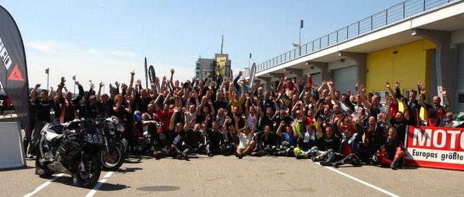 Dainese Safety Day auf dem Sachsenring