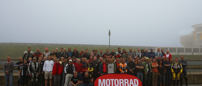Motorrad Action Team auf dem Sachsenring
