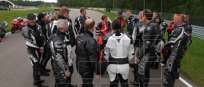 Motorrad Action Team im LUK Drivingcenter am 12.05.2010