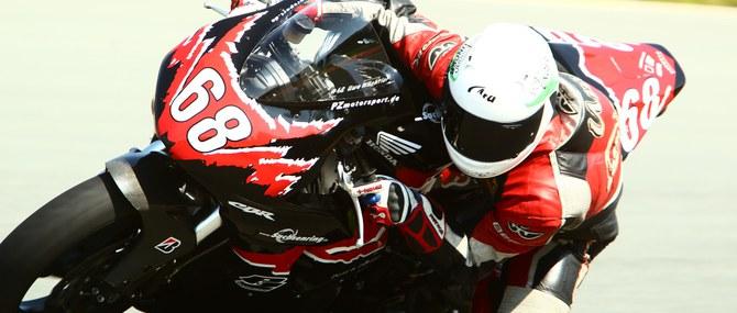 Motorrad Rennstrecken Training auf dem Sachsenring am 04.06.2014